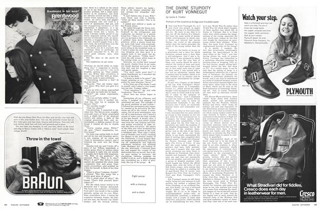 Article Preview: The Divine Stupidity of Kurt Vonnegut, SEPTEMBER 1970 1970 | Esquire