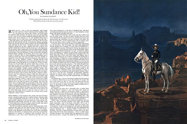 Article Preview: Oh, You Sundance Kid!, OCTOBER 1970 1970   Esquire