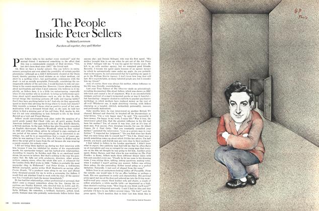 Article Preview: The People Inside Peter Sellers, NOVEMBER 1970 1970   Esquire
