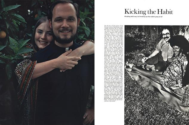 Article Preview: Kicking the Habit, NOVEMBER 1970 1970 | Esquire