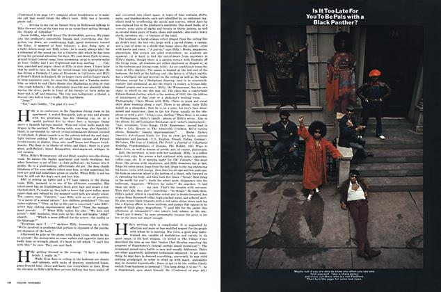 Article Preview: Is It Too Late for You to Be Pals with a Black Panther?, NOVEMBER 1970 1970 | Esquire