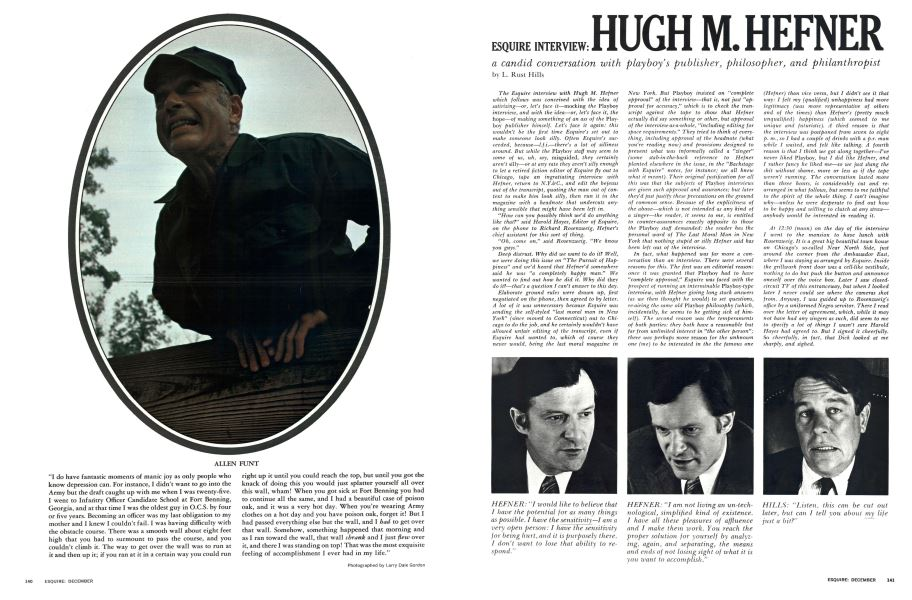 Esquire Interview Hugh M Hefner Esquire December 1970