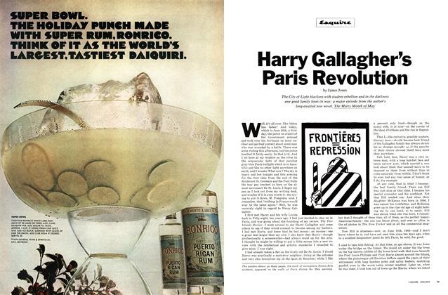 Harry Gallagher's Paris Revolution