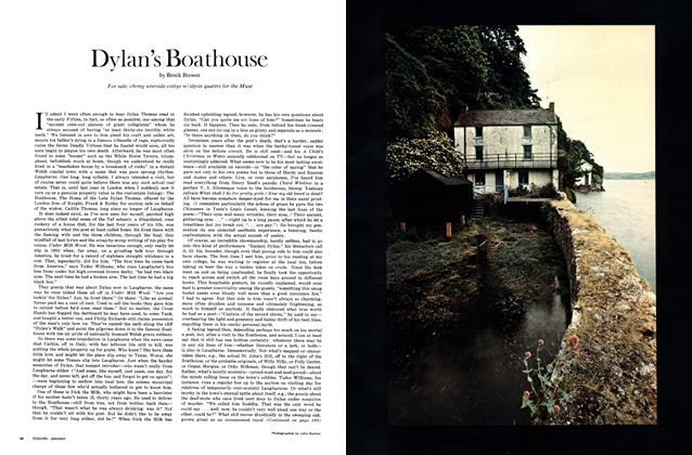 Article Preview: Dylan's Boathouse, JANUARY 1971 1971 | Esquire