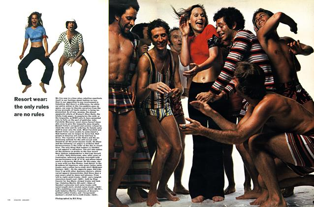 Article Preview: Resort Wear: the Only Rules Are No Rules, JANUARY 1971 1971 | Esquire