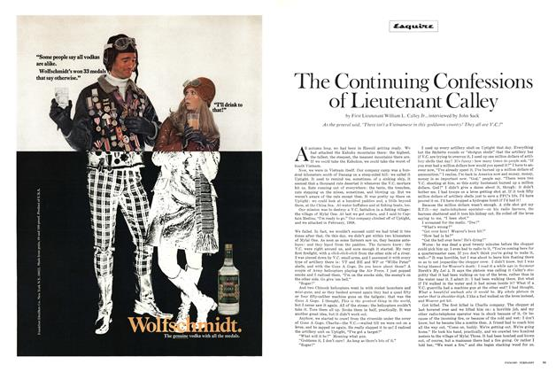 Article Preview: The Continuing Confessions of Lieutenant Calley, FEBRUARY 1971 1971 | Esquire
