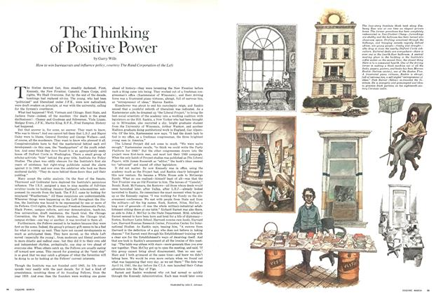 Article Preview: The Thinking of Positive Power, MARCH, 1971 1971 | Esquire