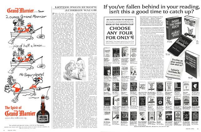 Article Preview: Letter From Europe, APRIL 1971 1971 | Esquire