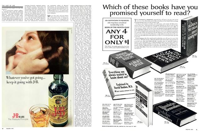 Article Preview: The Last of Life . . . ., MAY 1971 1971 | Esquire