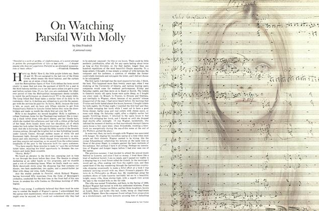 Article Preview: On Watching Parsifal With Molly, MAY 1971 1971 | Esquire
