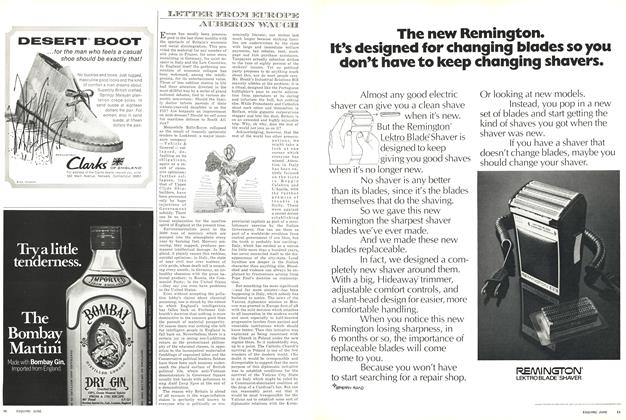 Article Preview: LETTER FROM EUROPE, JUNE 1971 1971 | Esquire