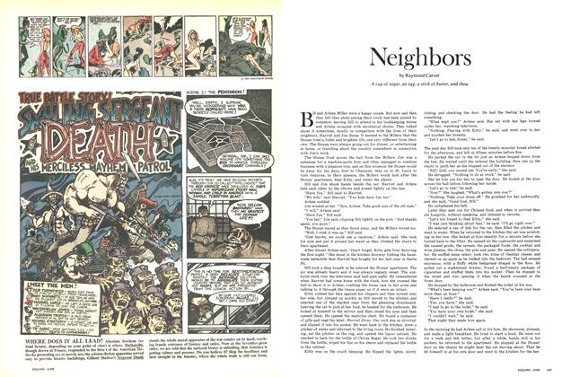 Article Preview: Neighbors, JUNE 1971 1971 | Esquire