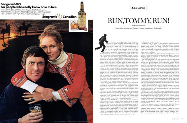 Article Preview: Run, Tommy, Run!, JULY 1971 1971 | Esquire