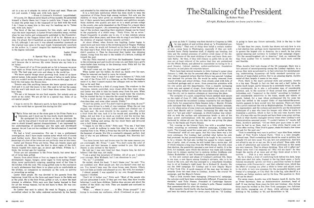 Article Preview: The Stalking of the President, JULY 1971 1971 | Esquire