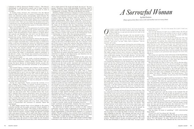 Article Preview: A Sorrowful Woman, AUGUST, 1971 1971 | Esquire