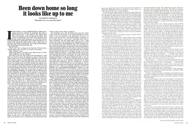 Article Preview: Been Down Home So Long It Looks Like Up to Me, AUGUST, 1971 1971 | Esquire