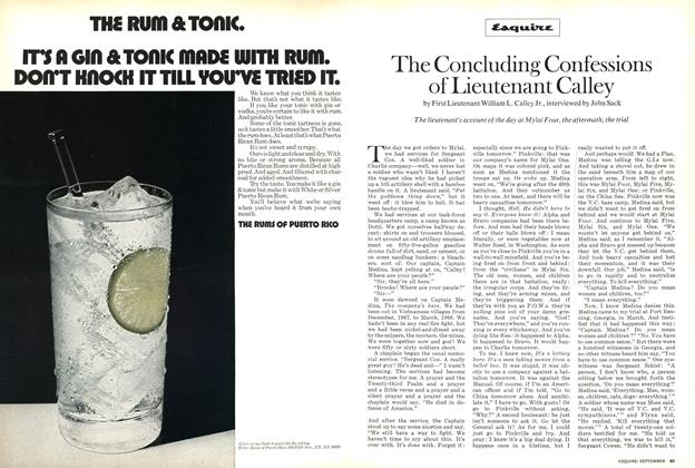 Article Preview: The Concluding Confessions of Lieutenant Calley, September 1971 | Esquire
