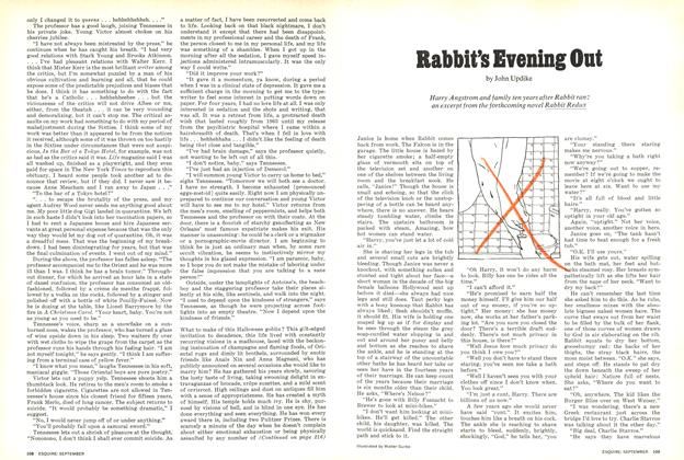 Article Preview: Rabbit's Evening Out, SEPTEMBER 1971 1971 | Esquire