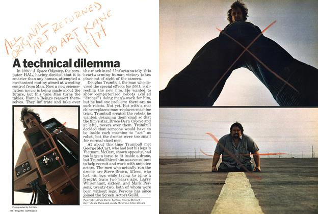 Article Preview: A Technical Dilemma, SEPTEMBER 1971 1971 | Esquire