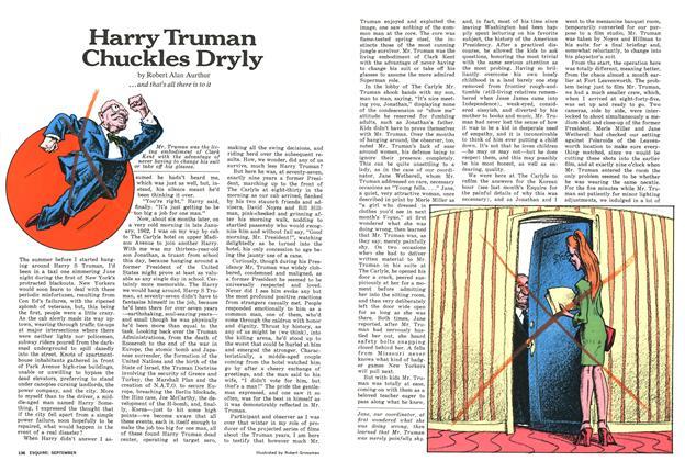 Harry Truman Chuckles Dryly