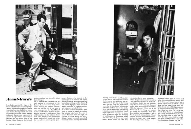 Article Preview: Avant-garde, OCTOBER 1971 1971 | Esquire