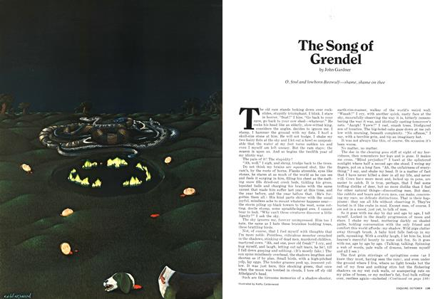Article Preview: The Song of Grendel, October 1971 | Esquire