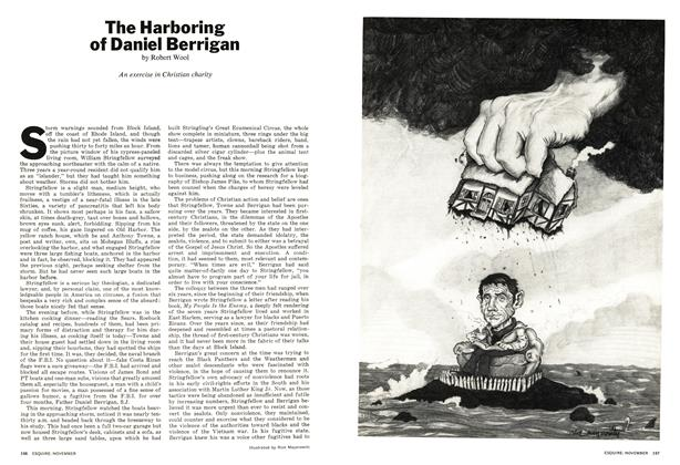 The Harboring of Daniel Berrigan