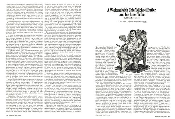 Article Preview: A Weekend with Chief Michael Butler and His Inner Tribe, November 1971 | Esquire