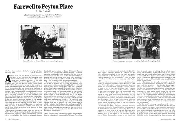 Farewell to Peyton Place