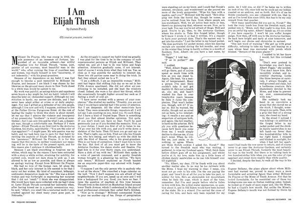 Article Preview: I Am Elijah Thrush, DECEMBER 1971 1971 | Esquire