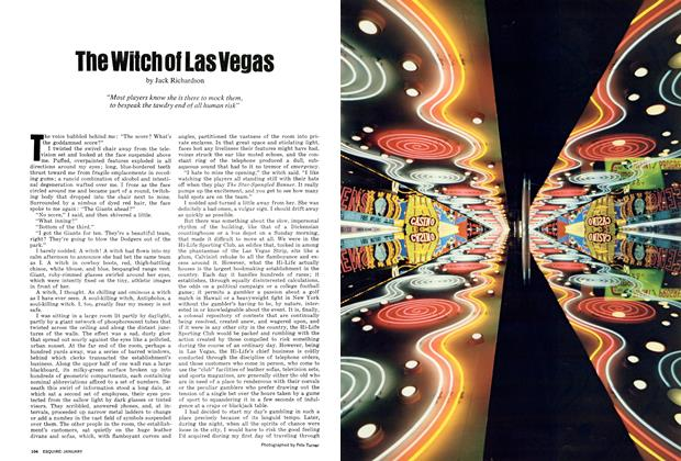 Article Preview: The Witch of Las Vegas, JANUARY 1972 1972 | Esquire
