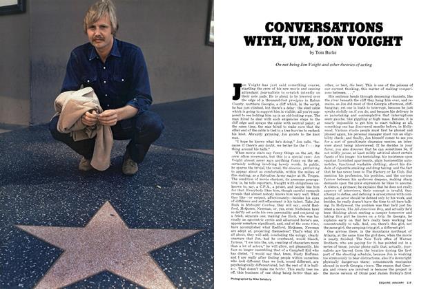 Conversations With, Um, Jon Voight