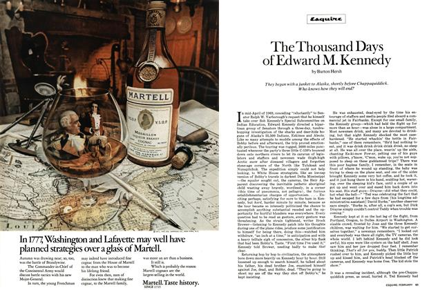 Article Preview: The Thousand Days of Edward M. Kennedy, FEBRUARY 1972 1972 | Esquire
