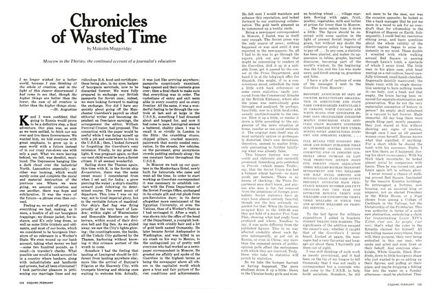 Article Preview: Chronicles of Wasted Time, FEBRUARY 1972 1972 | Esquire