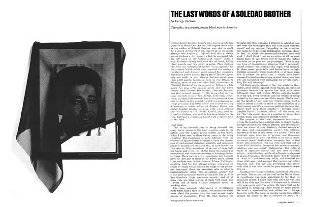 Article Preview: The Last Words of a Soledad Brother, MARCH 1972 1972 | Esquire