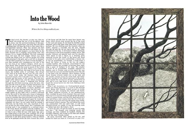 Article Preview: Into the Wood, MARCH 1972 1972 | Esquire