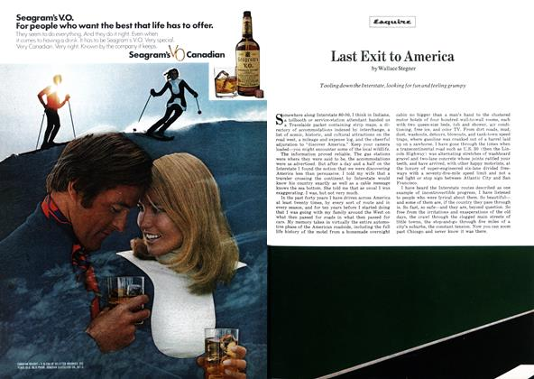 Article Preview: Last Exit to America, APRIL 1972 1972   Esquire