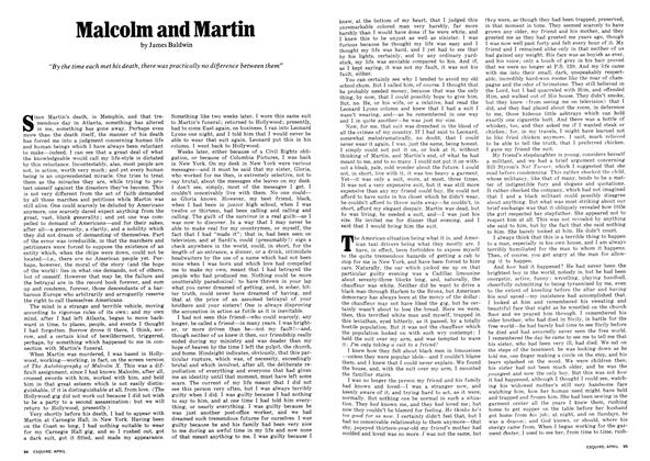 Article Preview: Malcolm and Martin, APRIL 1972 1972 | Esquire