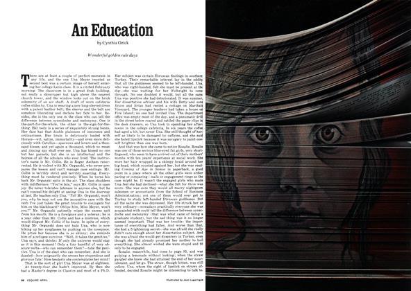 Article Preview: An Education, April 1972 | Esquire