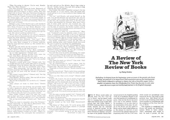 A Review of the New York Review of Books