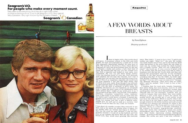 Article Preview: A Few Words About Breasts, MAY 1972 1972 | Esquire