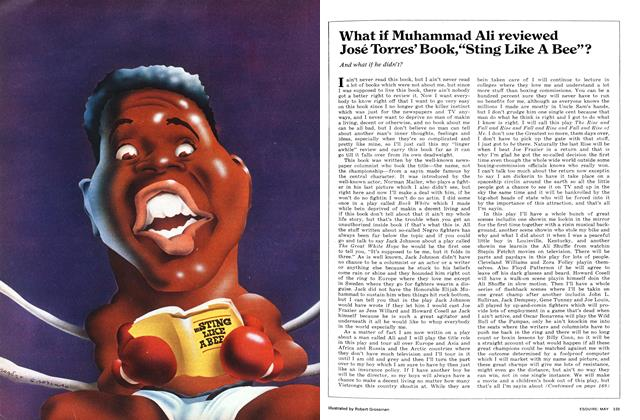 """Article Preview: What If Muhammad Ali Reviewed José Torres' Book,""""Sting Like a Bee""""?, May 1972 