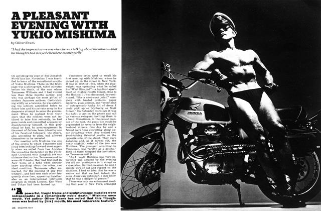 Article Preview: A Pleasant Evening with Yukio Mishima, MAY 1972 1972 | Esquire