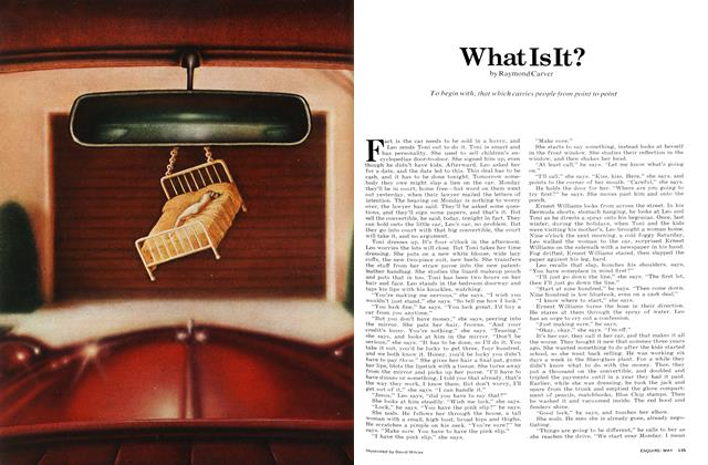 Article Preview: What Is It?, MAY 1972 1972 | Esquire