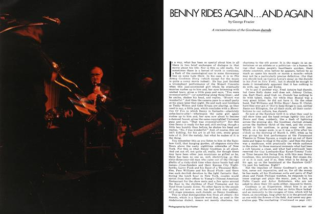 Article Preview: Benny Rides Again...and Again, May 1972 | Esquire