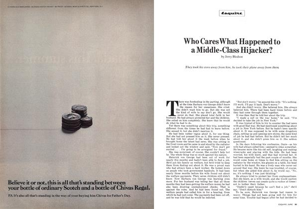Article Preview: Who Cares What Happened to a Middle-Class Hijacker?, June 1972 | Esquire