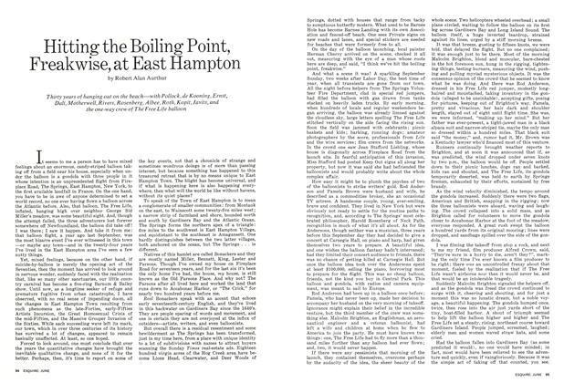 Article Preview: Hitting the Boiling Point, Freakwise, at East Hampton, June 1972 | Esquire
