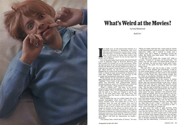 Article Preview: What's Weird at the Movies?, JUNE 1972 1972 | Esquire