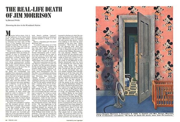 Article Preview: The Real-Life Death of Jim Morrison, JUNE 1972 1972 | Esquire
