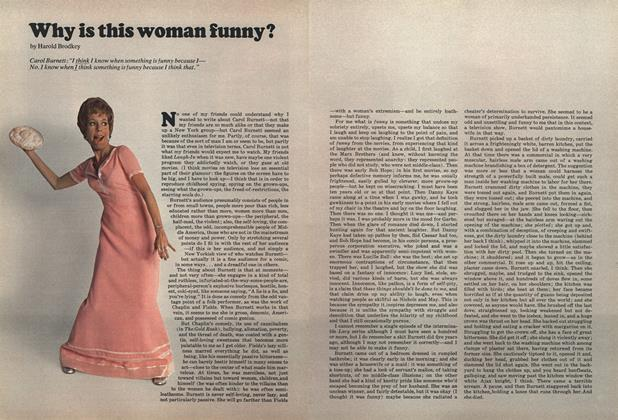 Article Preview: Why Is This Woman Funny?, JUNE 1972 1972 | Esquire